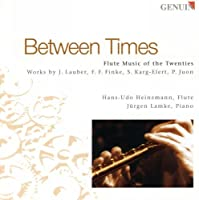 Between Times: Flute Music of
