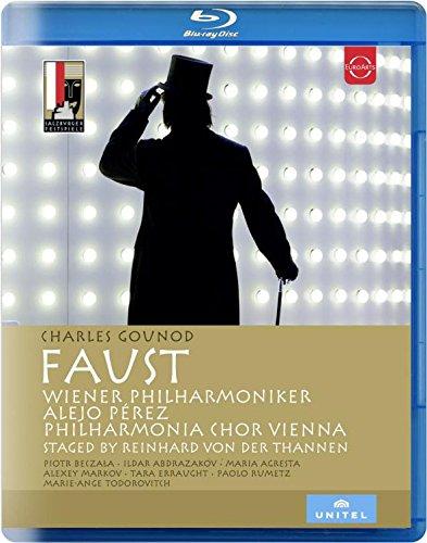 グノー : 歌劇 「ファウスト」 (全5幕) (Charles Gounod : Faust / Wiener Philharmoniker   Alejo Peres) [Blu-ray] [輸入盤] [日本語帯・解説付]
