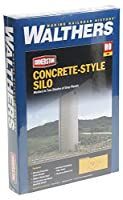 Walthers Cornerstone Rural USA - Concrete-Style Silo Plastic Kit