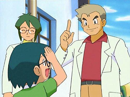 オーキド博士とオダマキ博士!秘密基地の戦い!!