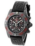 [ブライトリング] BREITLING 腕時計 MB0141 クロノマット41 ブラックカーボン SS(DLC)/ラバー300本限定[中古品] [並行輸入品]