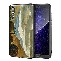 Mahmoud Said Huawei P20 Pro用ケース/ファインアート携帯電話ケース/高解像度ジクレーレベルUV複製プリント、携帯電話カバー(アレクサンドリア・スポンディゲン)