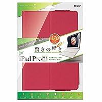 iPad Pro 9.7インチ 用 エアリーカバー レッド TBC-IPS1606R