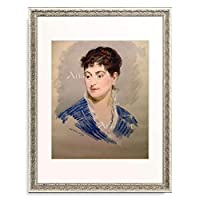 エドゥアール・マネ Edouard Manet 「Portrait de Mme Emile Zola」 額装アート作品