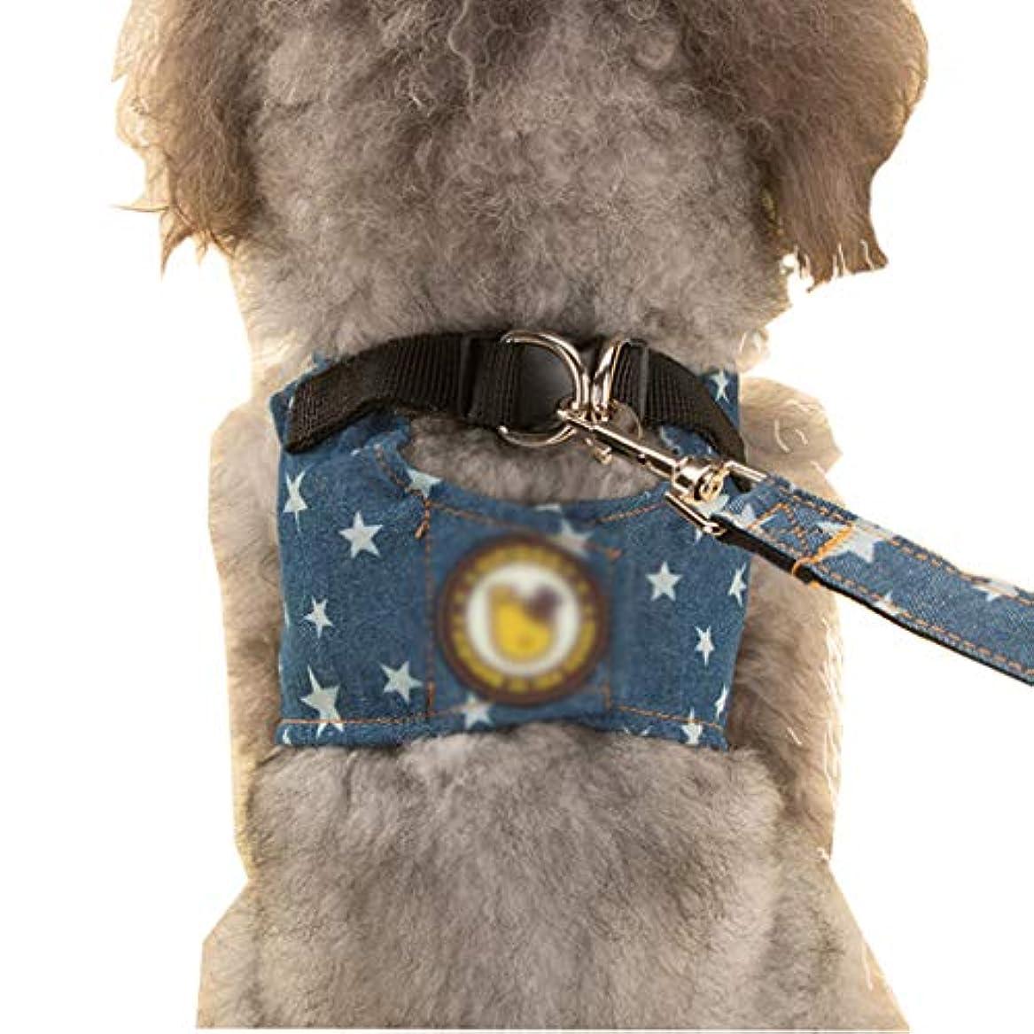 パブ美的成長するEISOON 犬用ハーネス 胴輪 犬の服 引っ張り防止 首輪 ペット用品 トラクションロープ 散歩 訓練 小型犬 中型犬