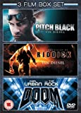 Pitch Black/Doom/Chronicles of Riddick [Import anglais]