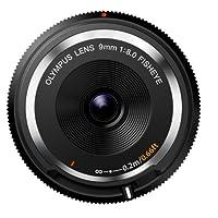 OLYMPUS ミラーレス一眼 9mm f8 フィッシュアイ ボディキャップレンズ ブラック BCL-0980 BLK