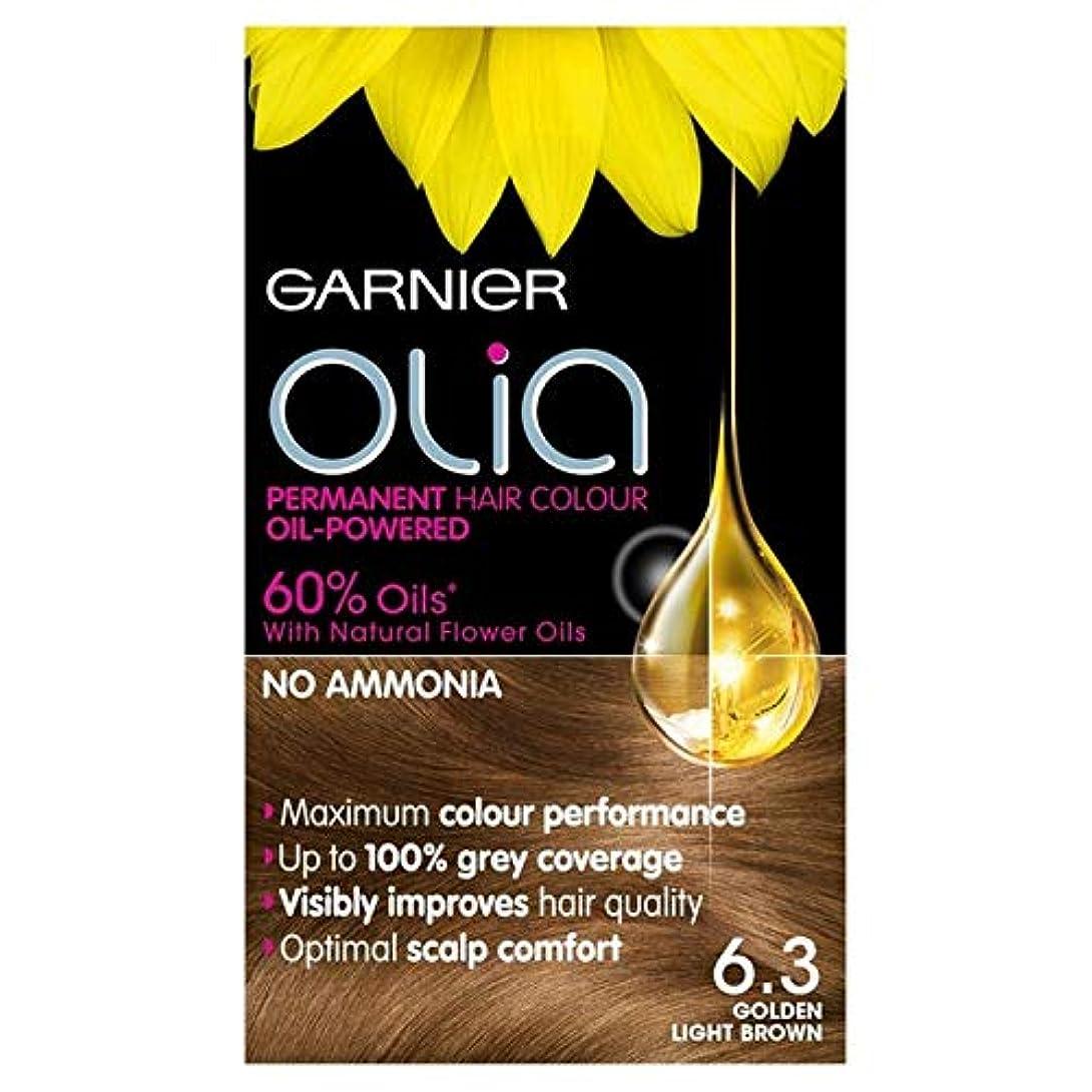 絶えず印象的なわずかに[Garnier ] ガルニエOlia 6.3黄金のライトブラウンパーマネントヘアダイ - Garnier Olia 6.3 Golden Light Brown Permanent Hair Dye [並行輸入品]