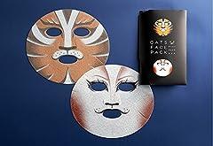 劇団四季 CATS キャッツ フェイスパック (ラムタムタガー&タントミール) マスク 通販 限定品 コラボ