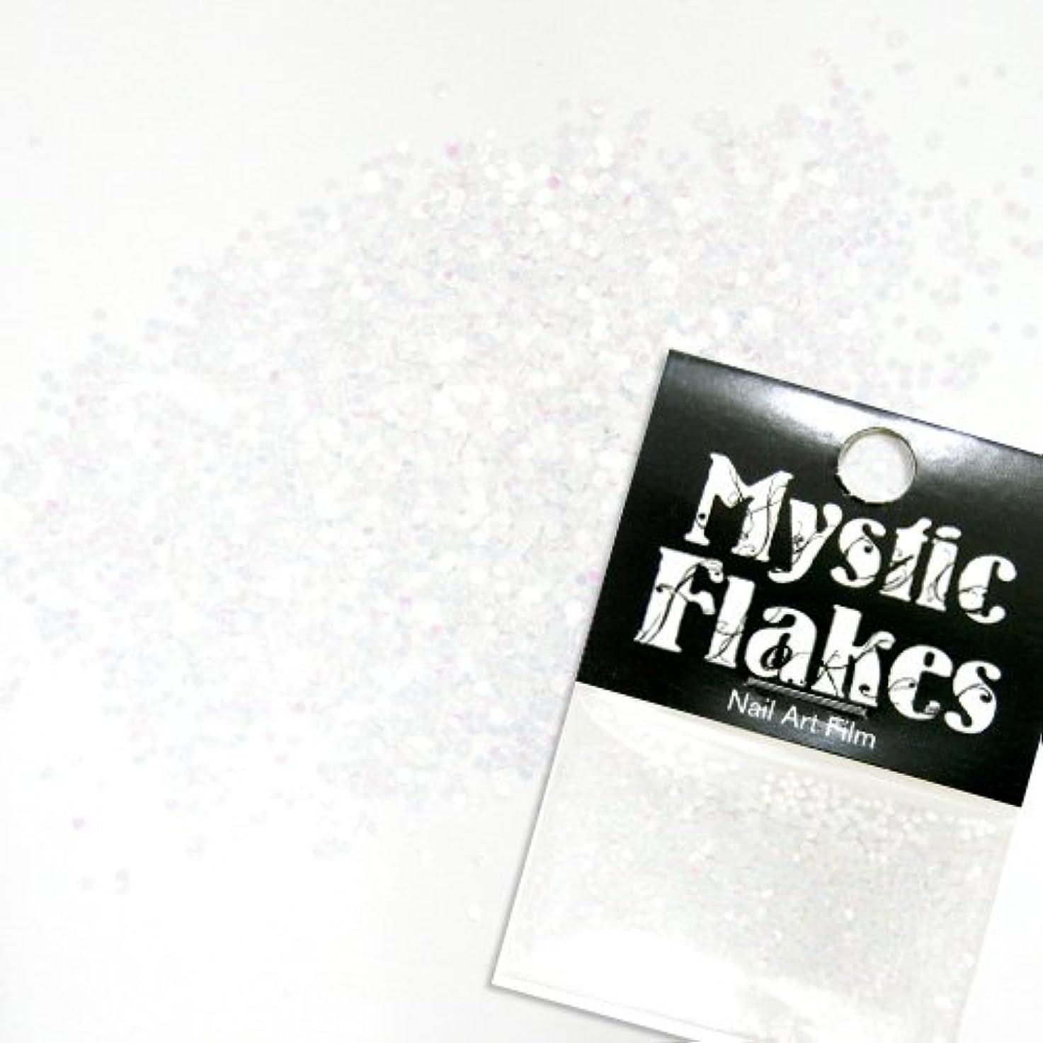 モニカ略語シンボルミスティックフレース ネイル用ストーン パステルホワイト サークル 1mm 0.5g