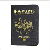 HEQUN 人気の Rfid パスポートホルダーユニセックススーパーヒーローハリーポッターパスポートカバー Pu レザートラベルパスポートカスタマイズ新レディース革財布