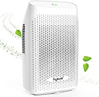 Hysure 1500ML Dehumidifier, Compact and Portable Electric Dehumidifiers Ultra Quiet Home Dehumidifier for Damp Air,...
