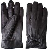 【本革】 本革 手袋 メンズ シープスキン グローブ 防寒 羊革 紳士 男性用 ビジネス (XL)