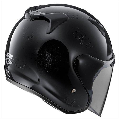 アライ(ARAI) バイクヘルメット ジェット SZ-G グラスブラック L 59-60cm