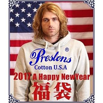 (プレストンズ)Prestons 福袋 プレストンズ COTTON USA ヘビー&タフ アメカジ福袋 数量限定 2017新春 メンズ アメカジ XL アソート