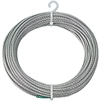 TRUSCO(トラスコ) ステンレスワイヤロープ Φ3.0mmX10m CWS-3S10