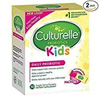 Culturelle Kids (カルチュレル キッズ) Packets Daily Probiotic No Flavor(無味)30パック×2箱 海外直送品