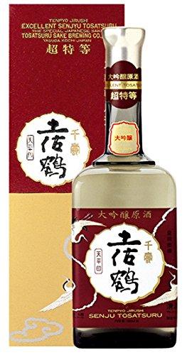 土佐鶴酒造 大吟醸原酒  天平 900ml [高知県/辛口]