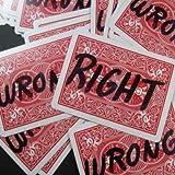 Right and Wrong by Bob Solari - Trick By Bob Solari [並行輸入品]