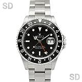 [ロレックス]ROLEX腕時計 GMTマスターII ブラック/ブラックベゼル Ref:16710 メンズ [中古] [並行輸入品]