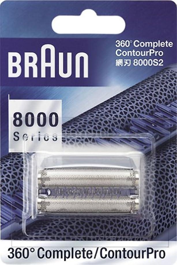 全部銅ディレイブラウン 360°コンプリート/コントゥアプロ用 網刃 F8000S2