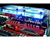 G.Skill - RAM 8 Go - 2x 4096 Mo - DDR3-1866 - 9-9-9-24 - Ripjaws X + Turbulence II - F3-14900CL9D-8GBXLD