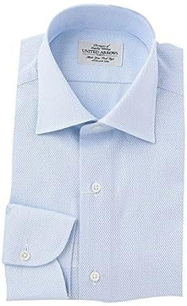 (ユナイテッドアローズ) UNITED ARROWS UDET カラミ セミワイド シャツ 11112500126 7140 LT.BLUE(71) 38cm