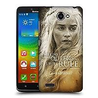 オフィシャルHBO Game of Thrones Daenerys Targaryen キャラクター・ポートレート Lenovo A768T 専用ハードバックケース