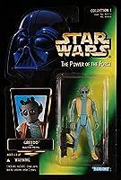 Qiyun 1996 Kenner Star Wars POTF Green Card Greedo Collection 1 Photo 4 Figure 076281696065