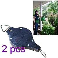 Yiteng  掛けフック 植物ハンガーホルダー吊り下げ用 壁掛け 伸縮ハンギング  花 植物 ポット 軽量 調節可能