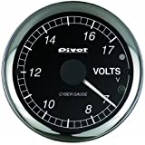 PIVOT ( ピボット ) メーター【CYBER GAUGE】電圧計 (OBDタイプ) COV