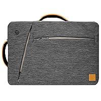 Back-to-School 3-in-1 変圧可能 15インチ ノートパソコン メッセンジャーバッグ グレイ AS_LAPLEA032_BTS