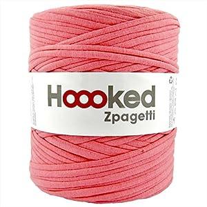 DMC Hoooked Zpagetti フックドゥ ズパゲッティ リサイクルヤーン 超極太 (ロットにより色の変更あり) #Pinkred ピンクレッド 約 120m DMC800