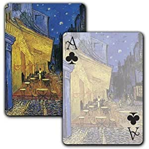 The Cafe Terrace on the Place du Forum, Arles, at Night - Single Deck Playing Cards by Laurel Ink [並行輸入品]