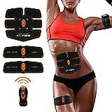 腹筋 振動マシン 超軽量 静音 自動的に筋肉鍛錬 マシーン 腹筋・背筋・お腹 男女兼用