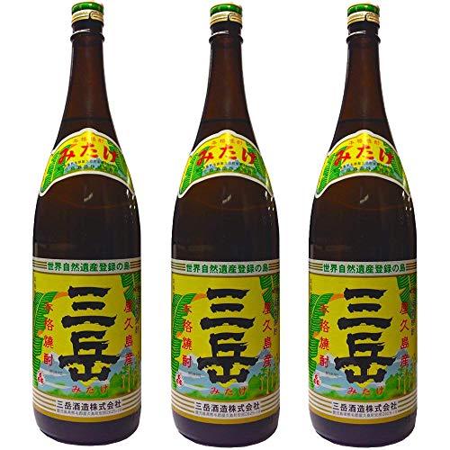 三岳1800ml 芋焼酎 3本セット