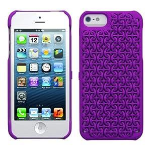 Freshfiber iPhone 5s/5用ケース Maille for iPhone 5s/5 Purple パープル FF-85241508