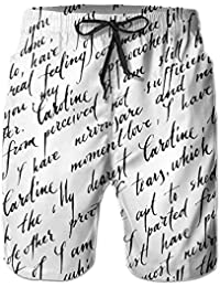HHTCZ 2018 おしゃれ 海パンツ サーフ ビーチ 夏 メンズ ショーパンツ プール 水着 水陸両用 アウトドア スポーツウエア ジョギング 水泳 砂浜 リゾート 通気速乾 吸汗 カジュアル 人気 L 絶対に買う!