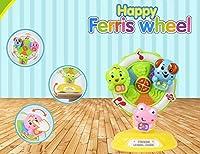 変な音のおもちゃ幼児子供のおもちゃ 赤ちゃんのおもちゃ多機能観覧車快適なマシンの話を伝える(ピンクの豚)