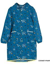 ワールドパーティー(Wpc.) キッズレインコート ポンチョ レインウェア ブルー L 子供 収納袋付き WKRL-DS077