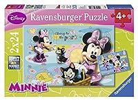 Ravensburger puzzle - disney minnie mouse (2x24pcs.) (08862)