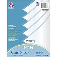 Pacon Card Stock, 8 1/2-inches by 11-inches, White, 100 Sheets (101188)? [並行輸入品]