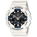 Gショック カシオ G-SHOCK CASIO メンズ 腕時計 アナデジ 海外モデル STANDARD GA-100B-7ADR ホワイト 逆輸入品
