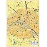 PARIS Map ポスター
