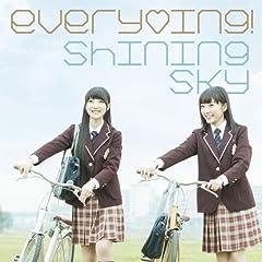 every♥ing!「Shining Sky」のジャケット画像