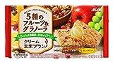 アサヒグループ食品 クリーム玄米ブラン 5種のフルーツ&グラノーラ 72g(2枚×2袋)×6袋