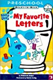 My Favorite Letters (Blue's Clues Ready-To-Read (Sagebrush))