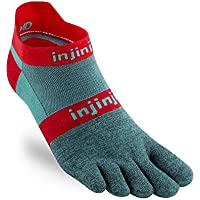 Injinji Run 2.0 Lightweight No-Show Toe Socks