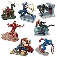 Disney Marvel Avengers 7-Piece Exclusive PVC Figure Set [並行輸入品]