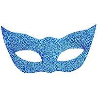 Dovewill 玩具 18インチドール飾り カラフル 猫形 ブリンブリン パーティーマスク 8色選択 - ブルー
